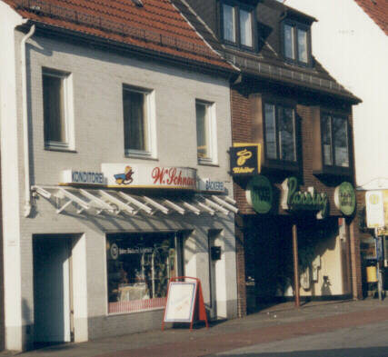 Cafe In Der Woltmershauser Strasse Bremen